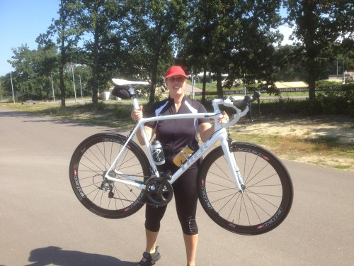 Helen and Henk's bike