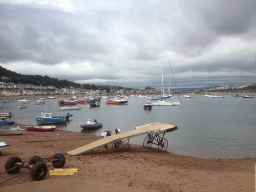 Teignmouth Sunday Morning
