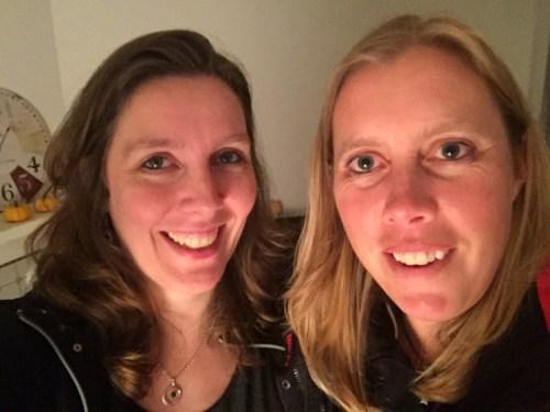 Helen and Marieke 2