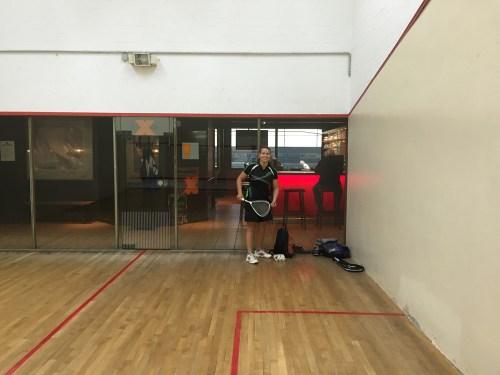 Squash with Lara