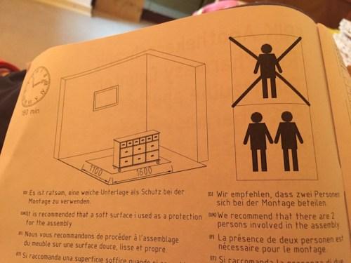 Apotheke Schrank instructions