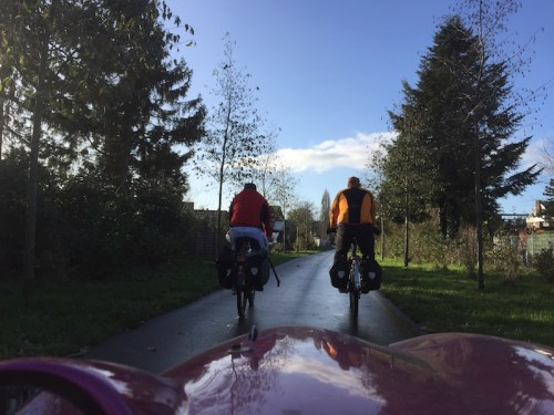 Cycling to Hombroich