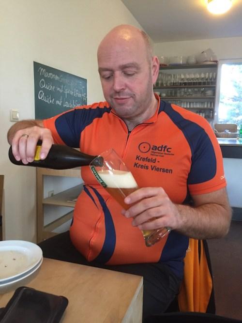 Jochen and beer