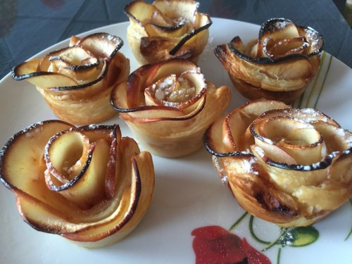 Jochen's party apple roses
