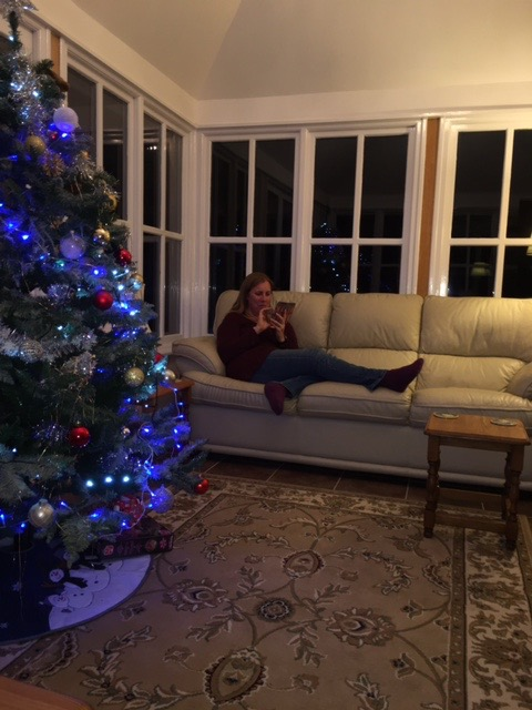 Post-Christmas Phone Usage