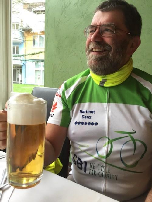 Hartmut and beer