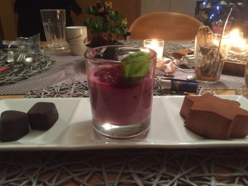 New year dessert