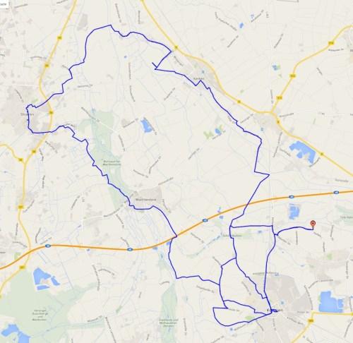 Straelen Ride Track