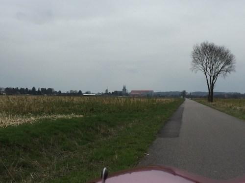 Approaching Xanten