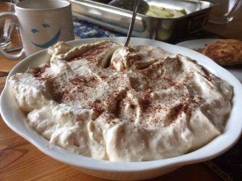 Gudula's creamy dessert