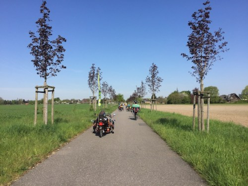 Bikes on Radweg
