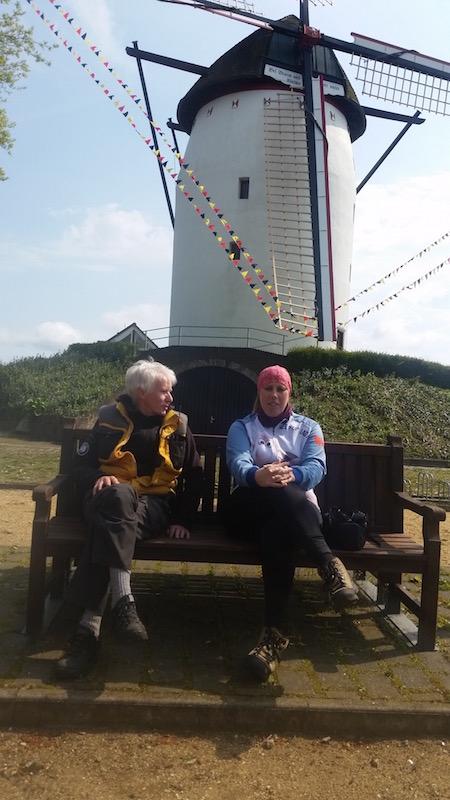 Helen and Uli at Walbeck