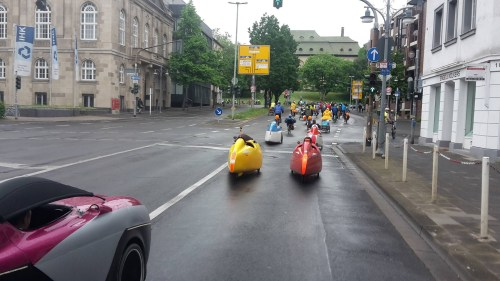 Sternfahrt Velomobiles 1