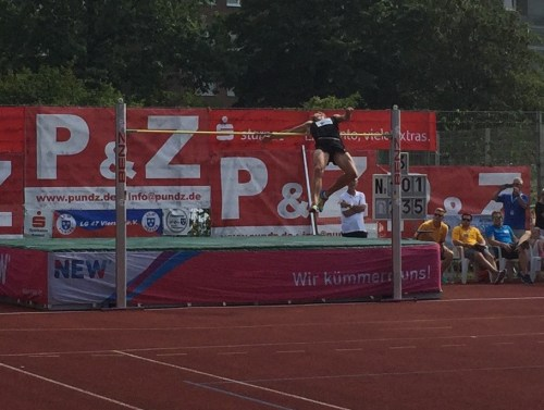 Highjump German chap