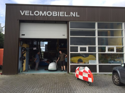 Jochen at Velomobielnl