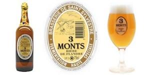 La bière du Nord 3 Monts