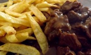 carbonade frites