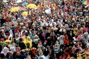 Jet de Harengs au carnaval de Dunkerque