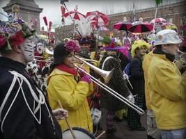 Les Musiciens au carnaval de Dunkerque
