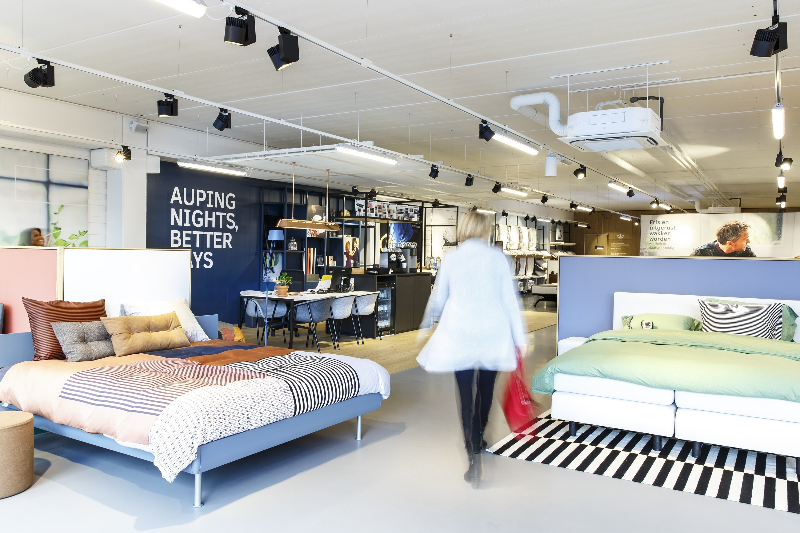 Weekendhulp Auping Plaza Amsterdam  Auping