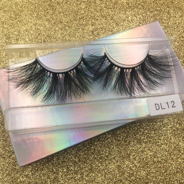 25mm mink lashes DL012