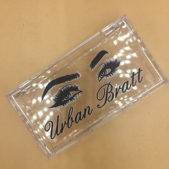 transparent lash box