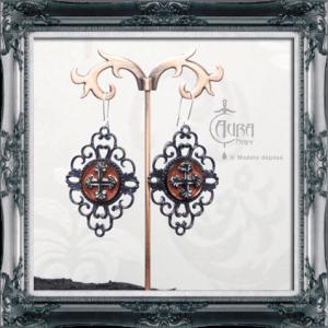 Différents fermoirs de boucles d'oreilles - Aura Noire