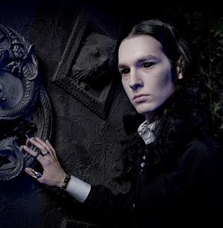 Style vampire - homme - aura noire - gothique - victorien
