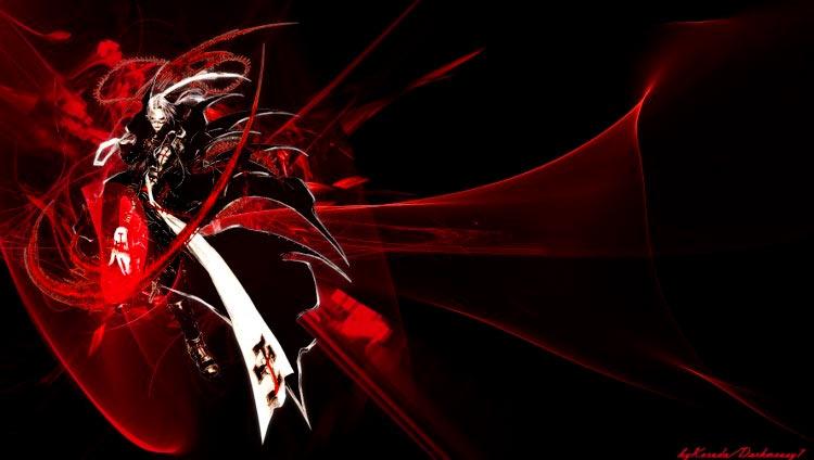 Mangas gothique et dark fantasy - aura noire devil mc cry