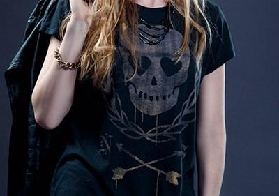 Style dark wear gothique biker rock vignette - Aura Noire