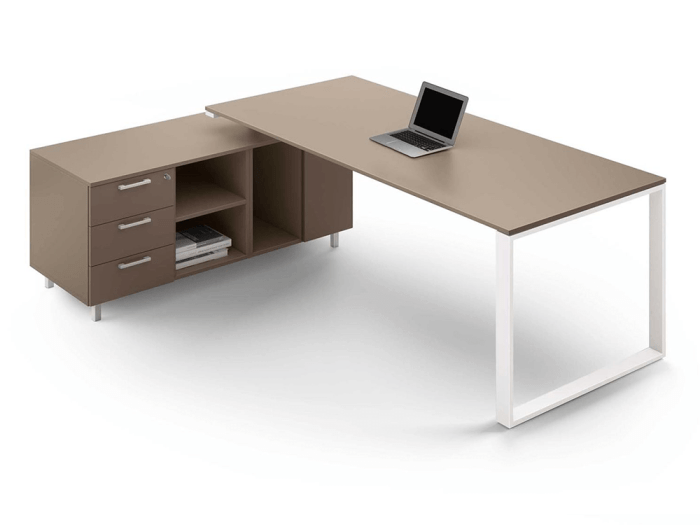 Gus – Ring Leg Wooden Executive Desk