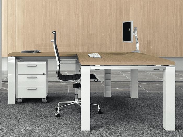 Kingsley – Straight U-Leg Executive Desk