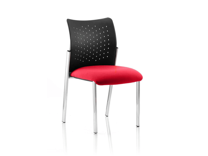 Elio – Visitor Chair in Multicolour Base without Arms