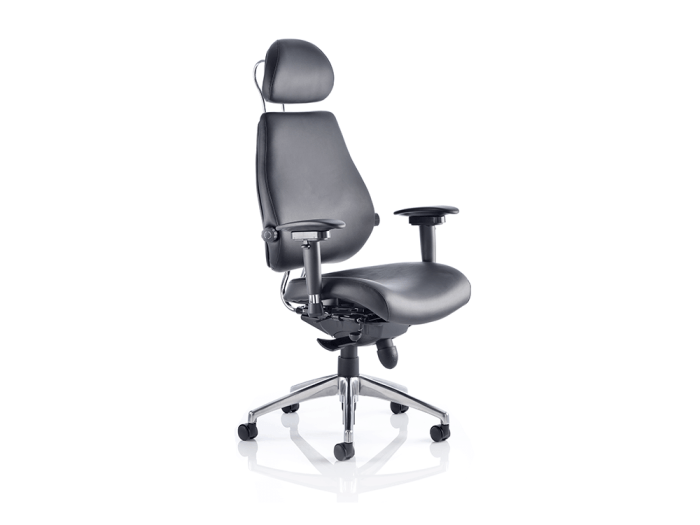 Selena – High Back Leather Executive Chair with Headrest