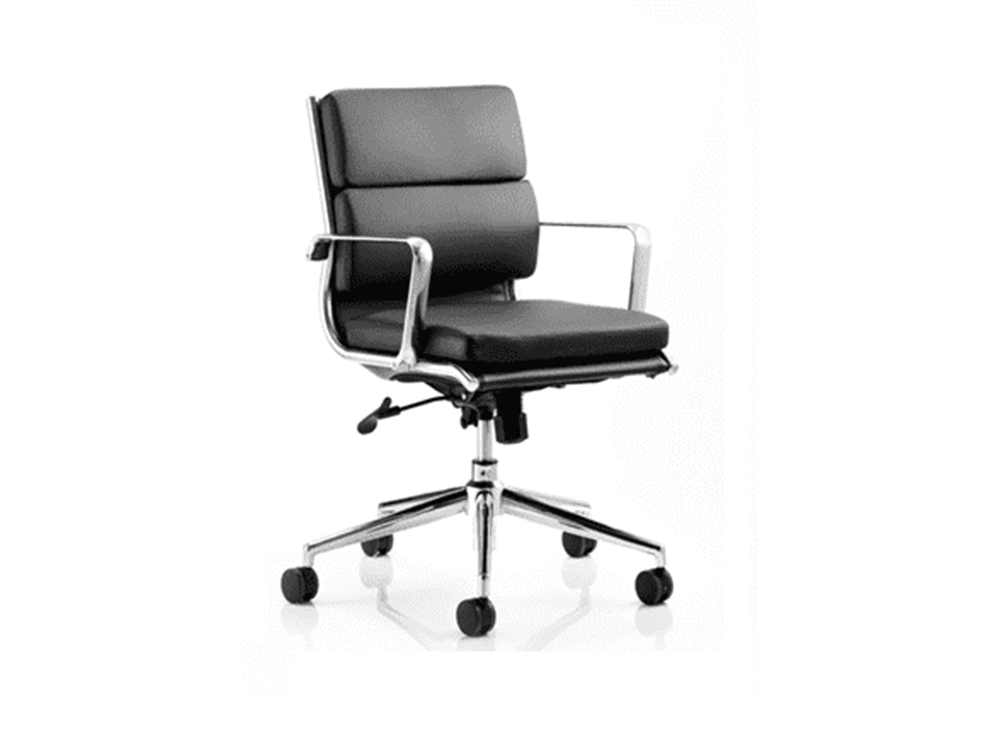 Ivy – Bonded Leather Wheel Base Executive Chair