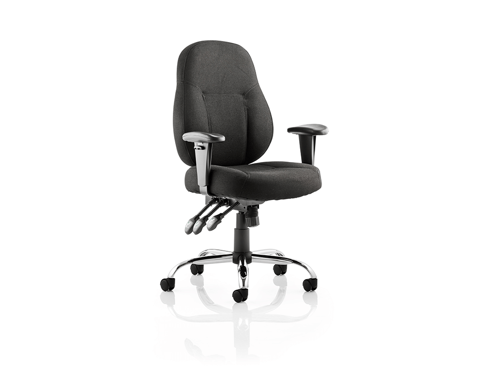 Storm – Bonded Leather Operator Office Chair with Arms