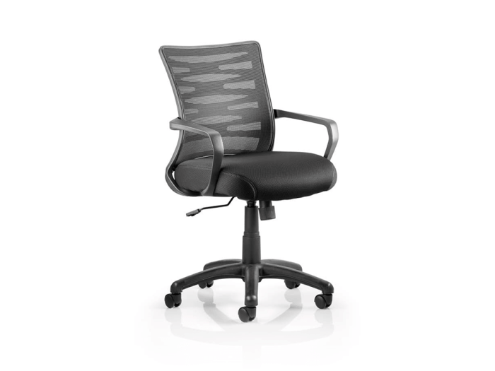 Carrie – Black Mesh Task Operator Office Chair with Arms
