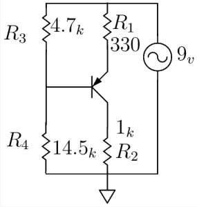 PNP Transistor as a Current Source