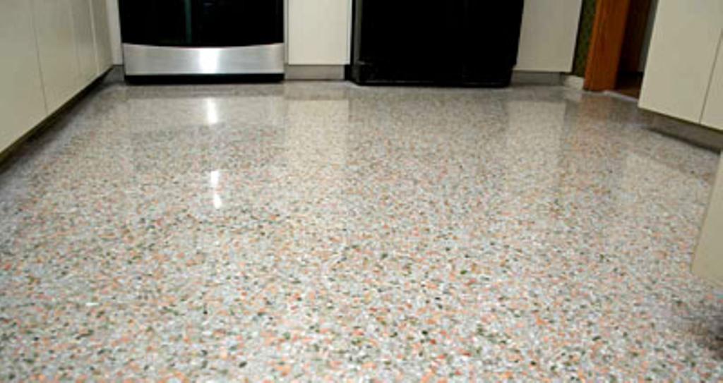 Terrazzo flooring  Aura Floor Care