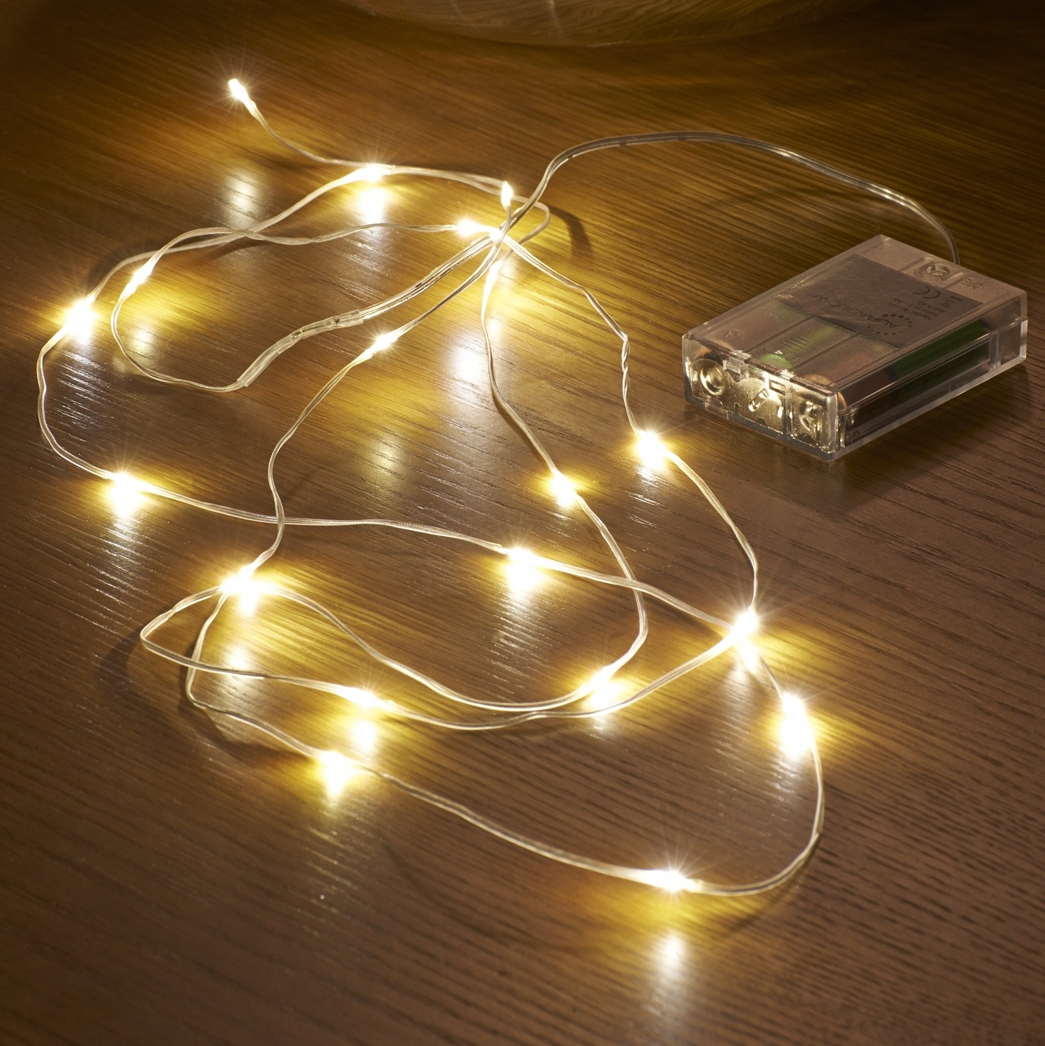 Micro LED String Lights  Battery Operated  23M