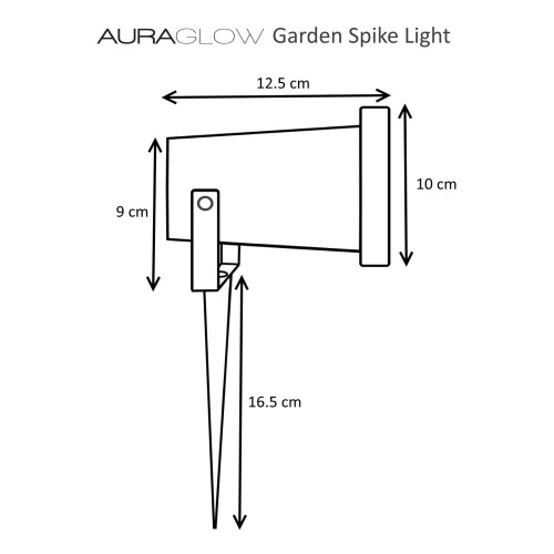 small resolution of led mood light auto electrical wiring diagram auraglow gu10 garden spike u0026 colour changing led light