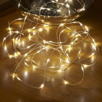 Micro LED String Lights - Battery Operated - Remote ...