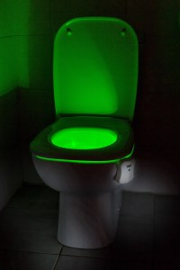 Auraglow LED Motion Activated Toilet Bowl Night Light ...