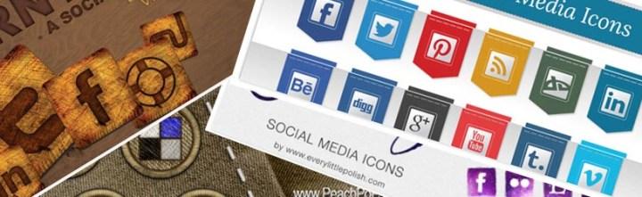 Wybrane darmowe ikonki portali społecznościowych