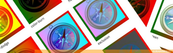 Mieszanie kolorów z selektorem mix-blend-mode [CSS]
