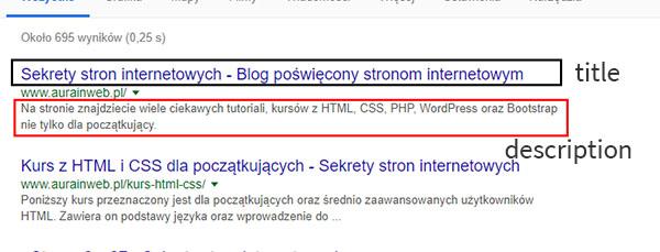 fragment wyników wyszukiwania, Jak dodać kod Google Analytics do WordPress?