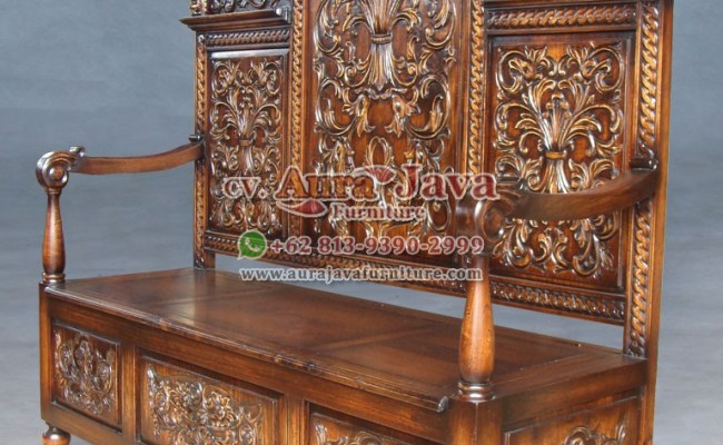 Mahogany Chair Cv Aura Java Furniture