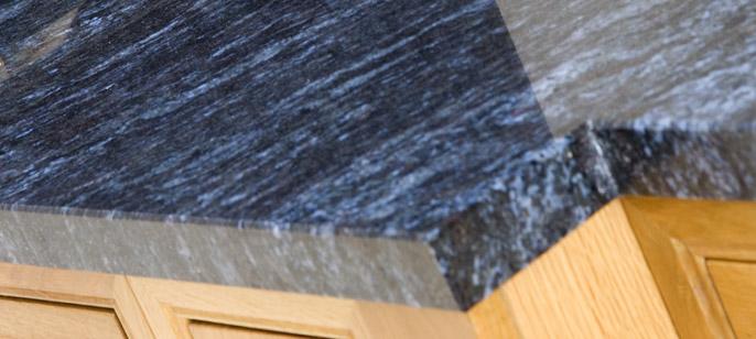 kitchen cupboard doors knife sheaths edge profiles - worktops aura stone