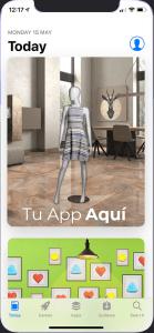 Publicamos tu App XR en App store y Google Play
