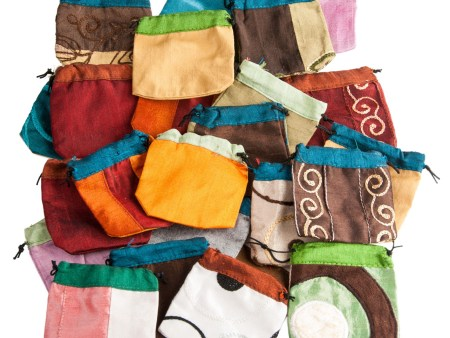 Baumwolltäschchen, 100 Stück